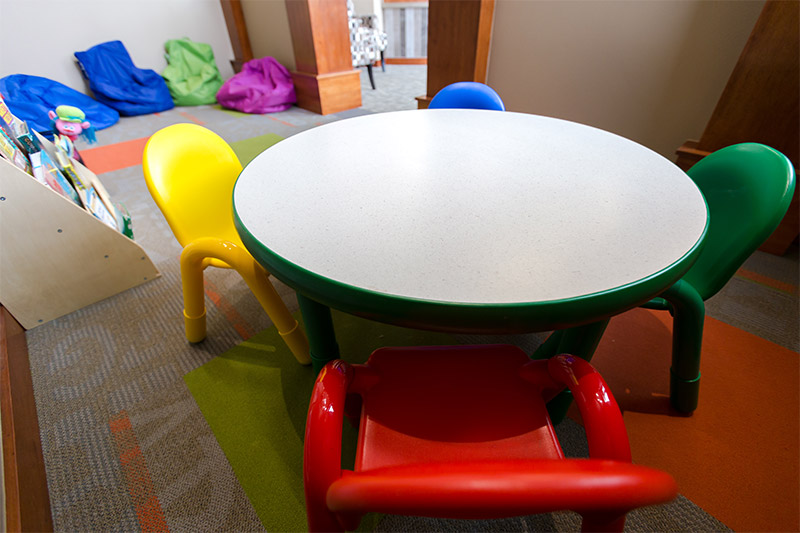 Kids Play Area at Yellowstone Family Dental Office